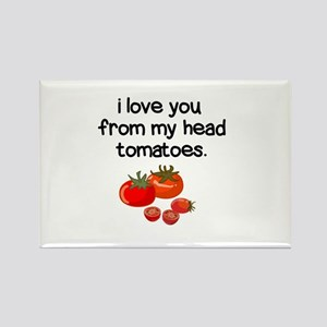 Love You from My Head to My Toes Magnets