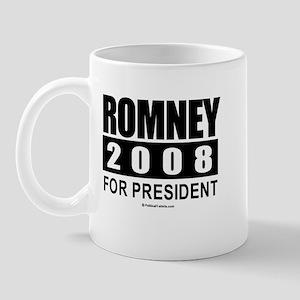 Romney 2008: For President Mug