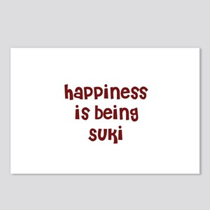 happiness is being Suki Postcards (Package of 8)