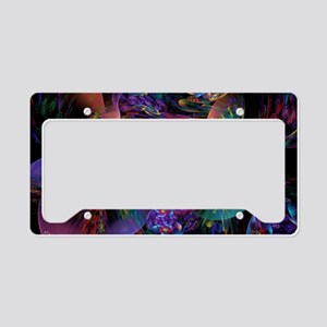 Smooth Plastic Bubbles License Plate Holder