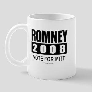 Romney 2008: Vote for Mitt Mug
