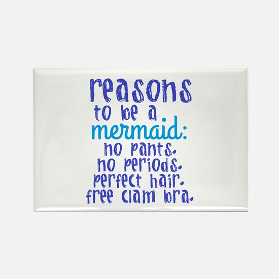 Reasons to be a Mermaid Magnets