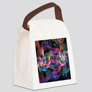 Smooth Plastic Bubbles Canvas Lunch Bag