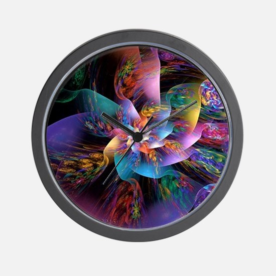Smooth Plastic Bubbles Wall Clock