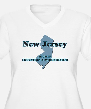 New Jersey Higher Education Admi Plus Size T-Shirt