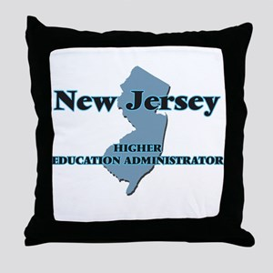 New Jersey Higher Education Administr Throw Pillow