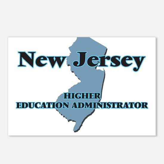 New Jersey Higher Educati Postcards (Package of 8)