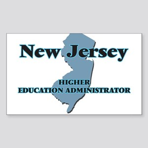 New Jersey Higher Education Administrator Sticker