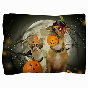Halloween Chihuahua dogs Pillow Sham