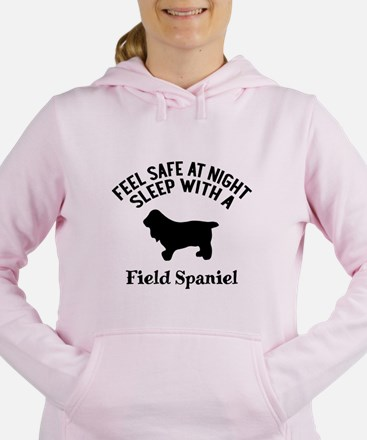 Sleep With Field Spaniel Women's Hooded Sweatshirt