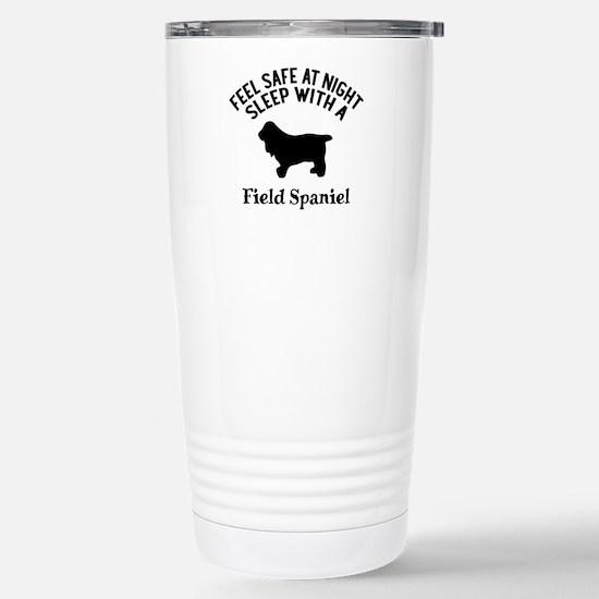 Sleep With Field Travel Mug