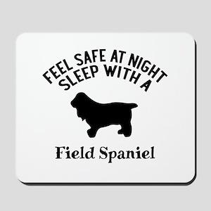 Sleep With Field Spaniel Dog Designs Mousepad