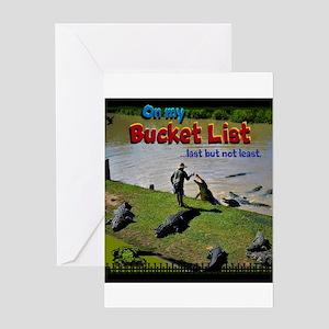 Bucket List Greeting Cards