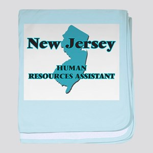 New Jersey Human Resources Assistant baby blanket