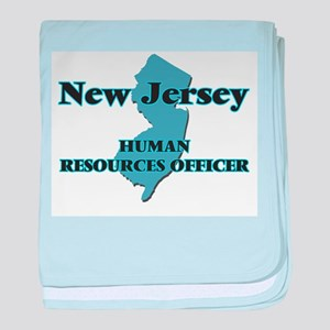 New Jersey Human Resources Officer baby blanket
