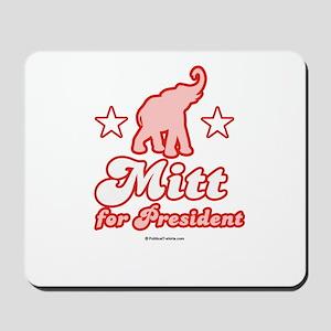 Mitt for President Mousepad