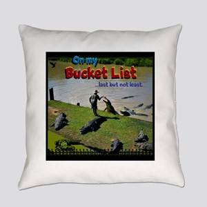 Bucket List Everyday Pillow