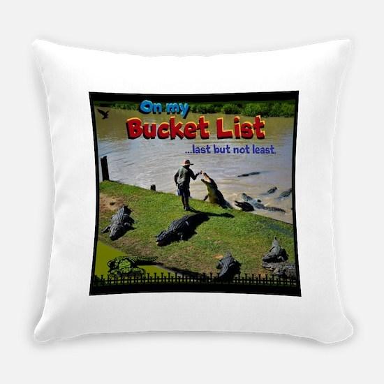 Bucket List Everyday Pillow