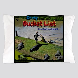 Bucket List Pillow Case