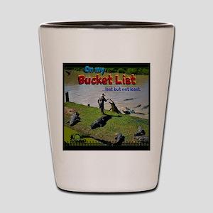 Bucket List Shot Glass