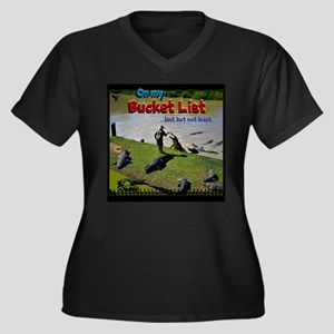 Bucket List Plus Size T-Shirt