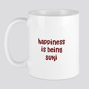 happiness is being Suki Mug