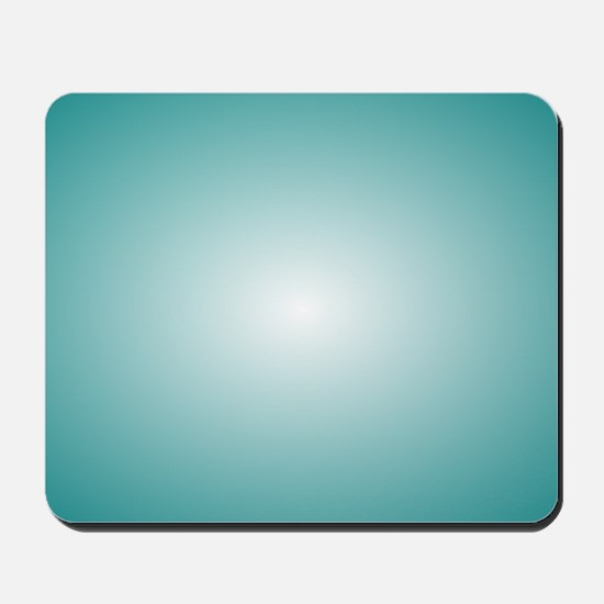 Blue Radial Gradient 120x90 Mousepad