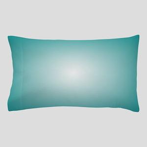 Blue Radial Gradient 120x90 Pillow Case