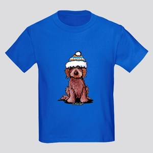 Winter Chocolate Kids Dark T-Shirt