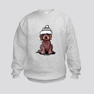 Winter Chocolate Kids Sweatshirt