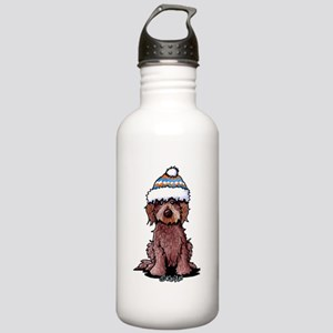 Winter Chocolate Stainless Water Bottle 1.0L