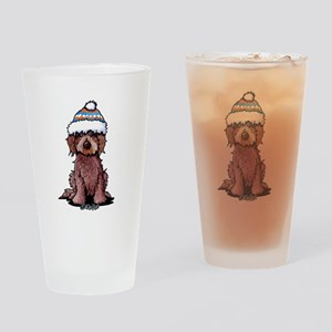 Winter Chocolate Drinking Glass