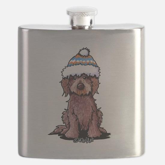 Winter Chocolate Flask
