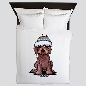 Winter Chocolate Queen Duvet