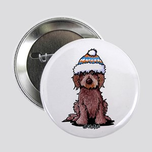 "Winter Chocolate 2.25"" Button"