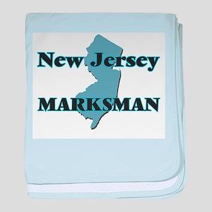 New Jersey Marksman baby blanket