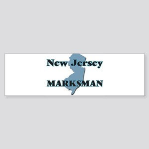 New Jersey Marksman Bumper Sticker