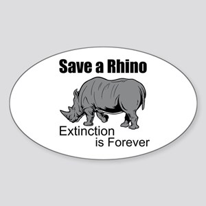 Save A Rhino Sticker