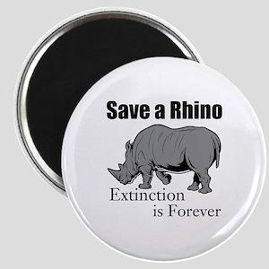 Save A Rhino Magnets