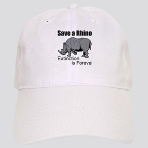 Save A Rhino Baseball Cap