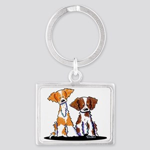 KiniArt Brittany Duo Keychains