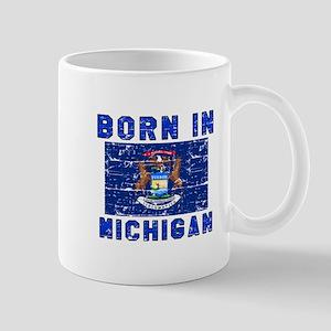 Born in Michigan Mug