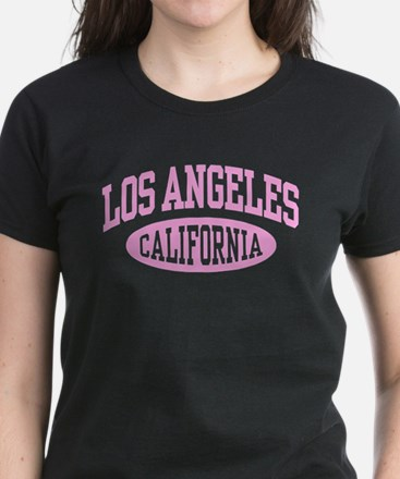 Los Angeles California Women's Dark T-Shirt
