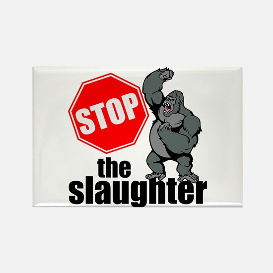 Stop Ape Slaughter Magnets