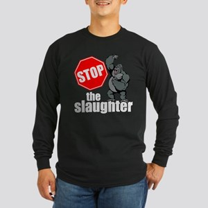 Stop Ape Slaughter Long Sleeve T-Shirt