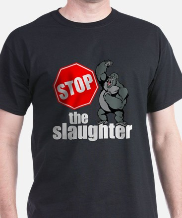 Stop Ape Slaughter T-Shirt