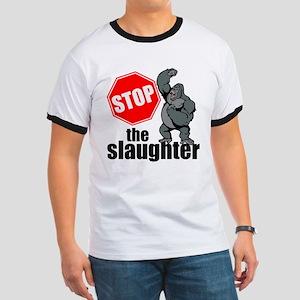 Stop Ape Slaughter T-Shirt