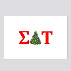 Sigma Delta Tau Christmas Tree Postcards (Package