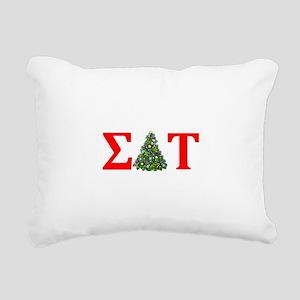 Sigma Delta Tau Christmas Tree Rectangular Canvas