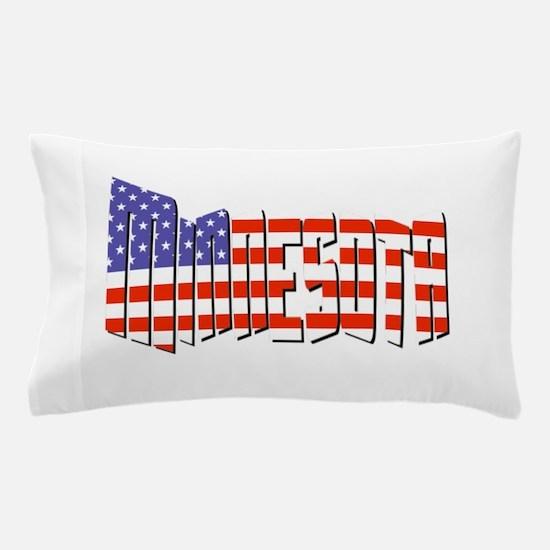 Patriotic Minnesota Pillow Case